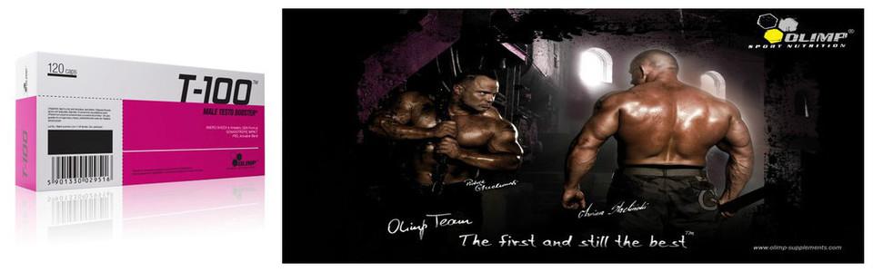 Olimp T 100, le testo booster de la testostérone masculine