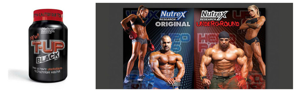 Nutrex T UP Black, le méga support de votre testostérone