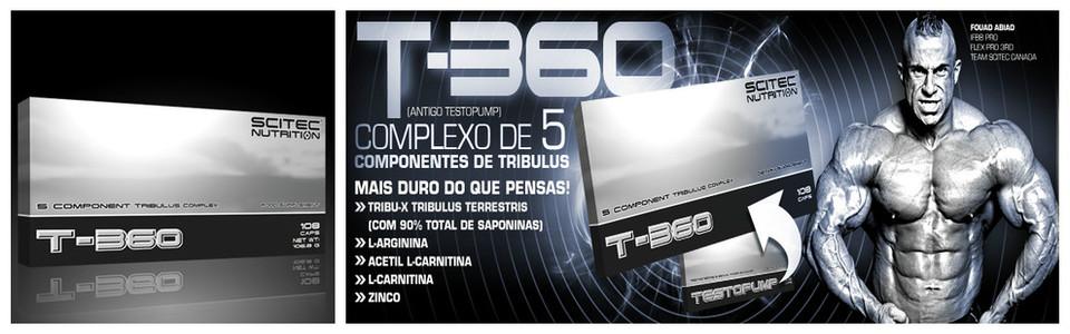 Scitec T 360 Testopump, vos performances au plus haut niveau
