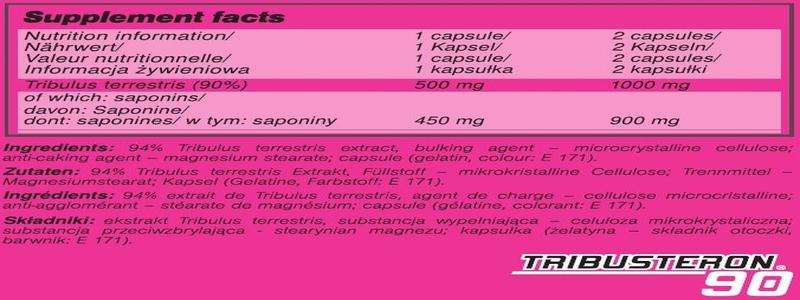 Ingredients-olimp-tribusteron-90