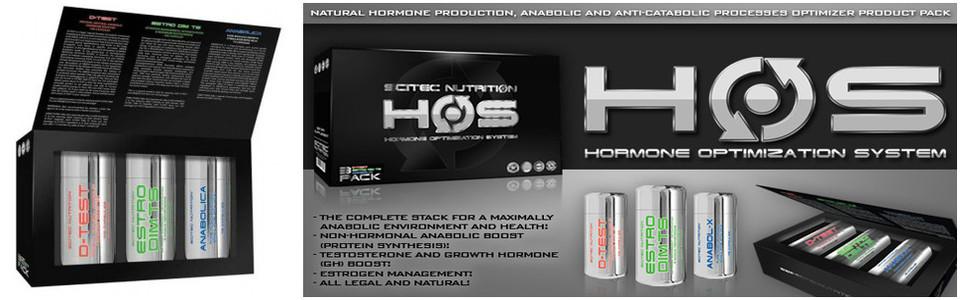 Scitec HOS, le système d'optimisation d'hormone