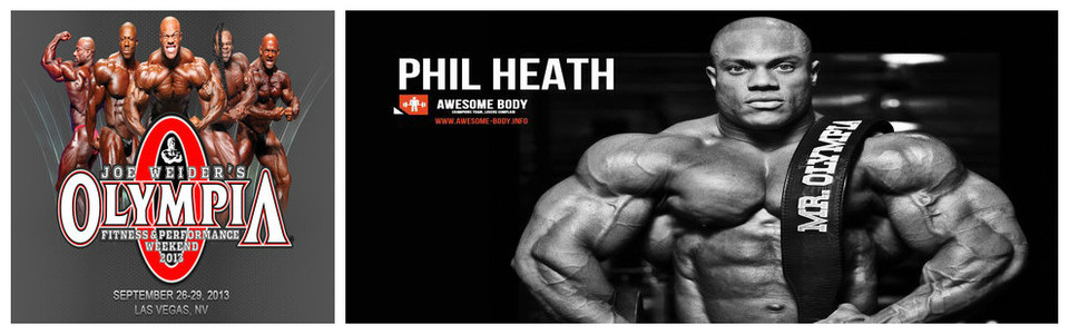 Phil Heath – Mr Olympia 2013