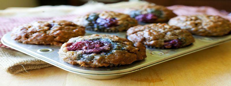 Muffin-minute-aux-myrtilles-et-aux-flocons-d-avoine