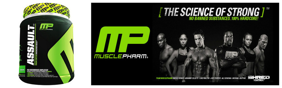 MusclePharm Assault pour une endurance intense