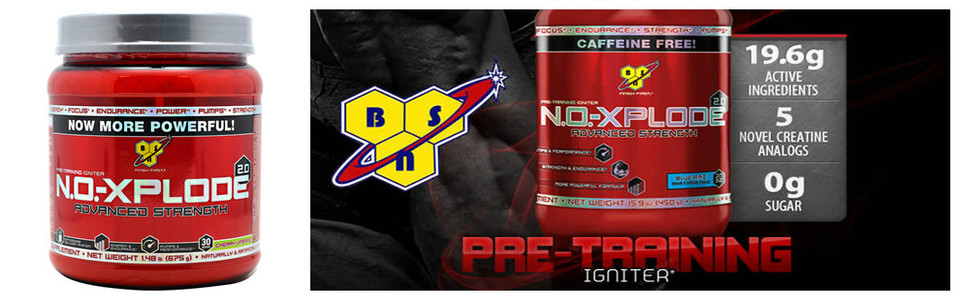 NO Xplode 2 Advanced Strength, la nouvelle version améliorée de BSN