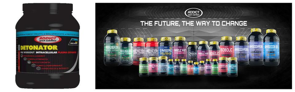 Addict Sport Nutrition Detonator, le volumisateur de muscles