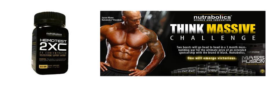 Nutrabolics Hemotest 2XC, produisez plus de testostérone