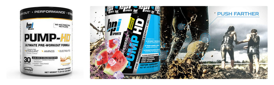BPI Pump HD, l'ultime formule pré-entrainement