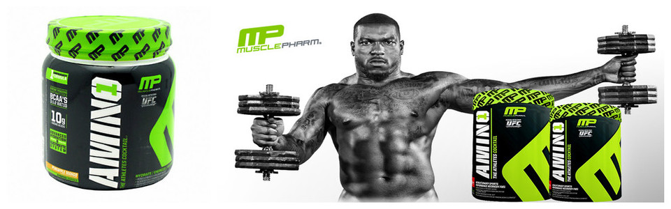 MusclePharm Amino 1, le cocktail des athlètes