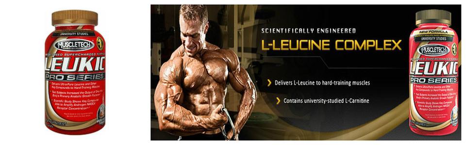 MuscleTech Leukic Pro Series, une formule méga dosée de leucine
