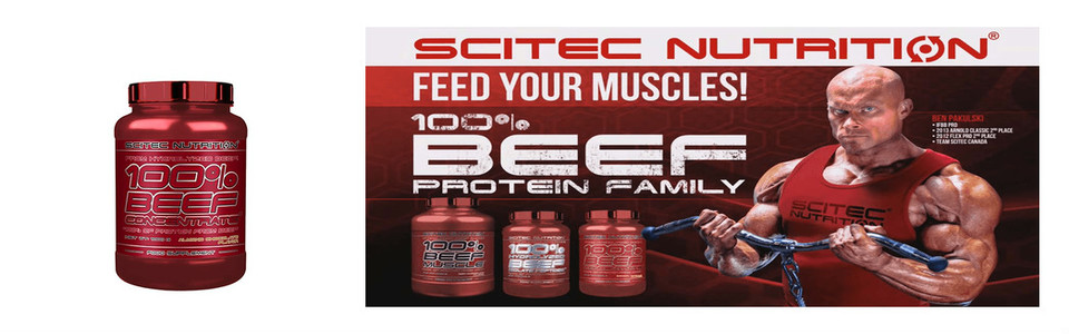 Scitec 100% Beef Concentrate Test et Avis
