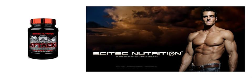 Scitec Attack la formule booster de créatine pré-entrainement