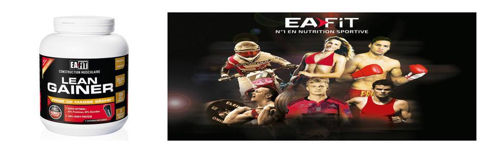 EAFIT Lean Gainer, le supplément hypercalorique équilibré