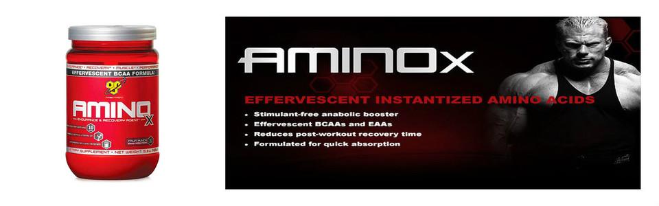 BSN AminoX spécialement conçu pour stimuler votre entrainement