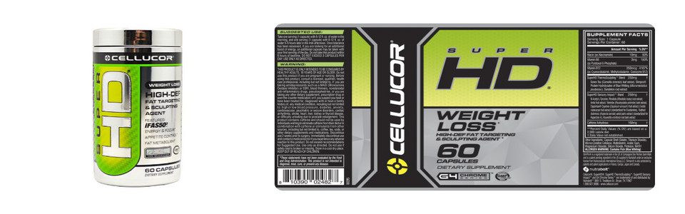 Cellucor Super HD, l'agent ciblant et sculptant la graisse