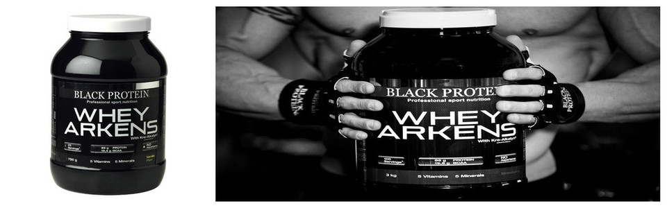 Whey Arkens Black Protein, le dosage optimisé