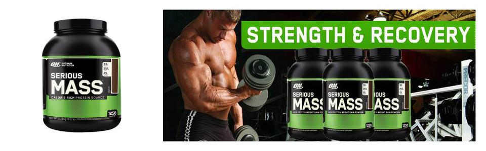 Optimum Nutrition Serious Mass, développez votre masse musculaire
