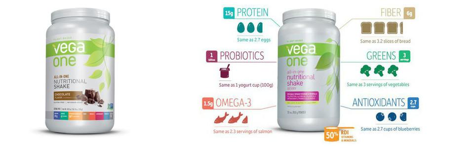 Vega One nutritional shake, le supplément alimentaire tout en un