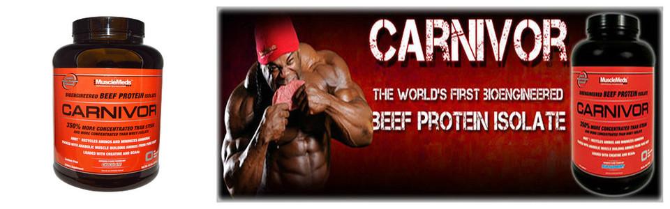 Musclemeds Carnivor, du boeuf selon la bio ingénierie avancée