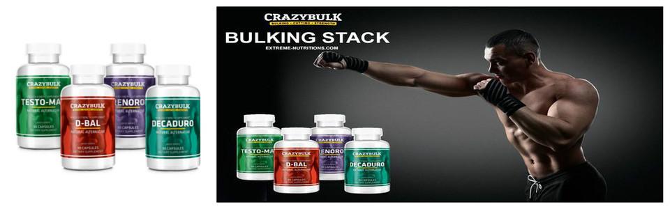 CrazyBulk Bulking Stack, le programme complet de prise de masse