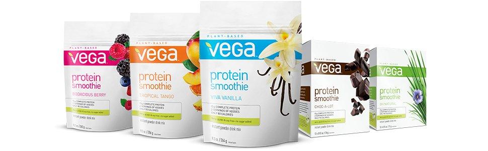 Vega Protein Smoothie, le plein de protéines végétales en petit-déjeuner!
