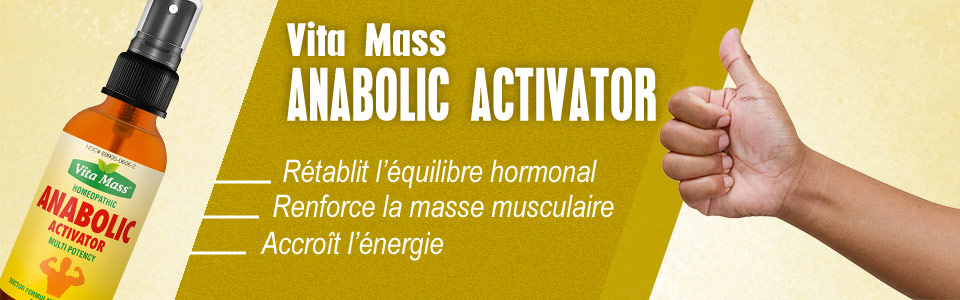 Vita Mass Anabolic Activator, stimulateur de la production d'HGH