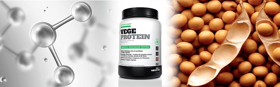 Vege Protein NHCO Nutrition : la musculation pour les vegans ?