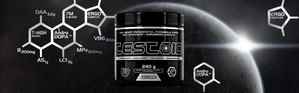 TesToid de Xcore Nutrition : le booster anti-oestrogène !