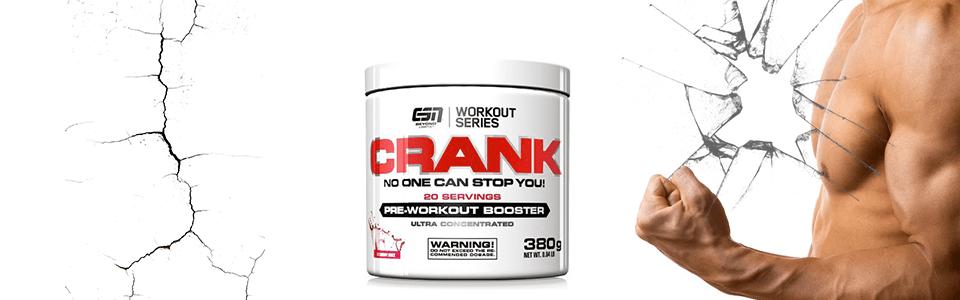 Crank de ESN, le pré-entraînement qui fait Crack ?
