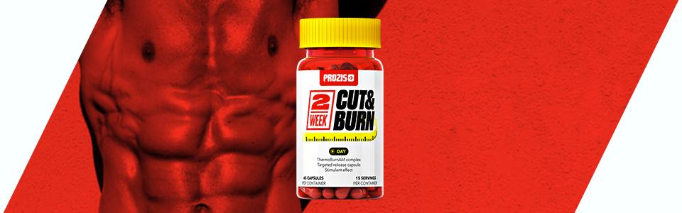 2 week Cut & Burn Day de Prozis, un brûleur de graisse pour le jour !